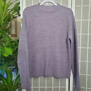 NWT Ralph Lauren Purple Sweater Size L
